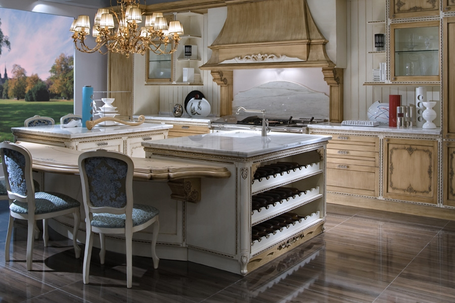 Neoclassical kitchens