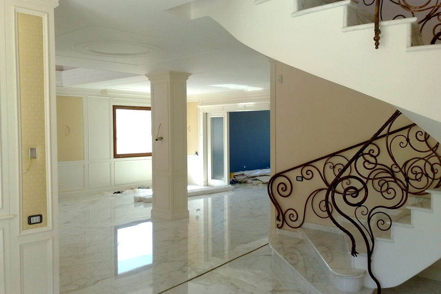 Project of Neoclassical Villa